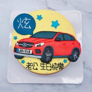 台北賓士汽車造型蛋糕 ,Mercedes-Benz車子生日蛋糕推薦