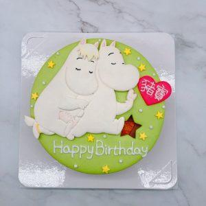 2021年嚕嚕米生日蛋糕推薦,Moomin卡通造型蛋糕宅配