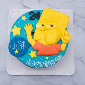 辛普森家庭生日蛋糕推薦,卡通造型蛋糕作品分享