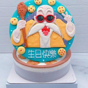 七龍珠生日蛋糕推薦,龜仙人造型蛋糕宅配