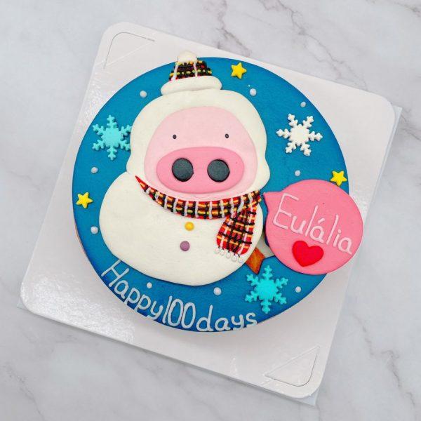 台北豬造型蛋糕推薦,客製化造型作品分享