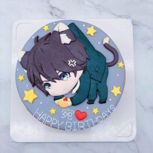 李澤言造型蛋糕推薦,戀與製作人生日蛋糕作品分享