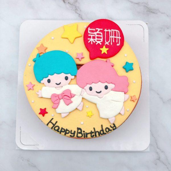 雙子星造型蛋糕推薦,生日蛋糕蛋糕作品分享