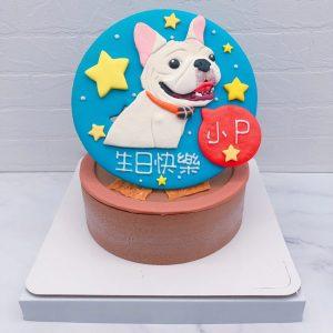 台北寵物造型蛋糕推薦,法鬥客製化蛋糕宅配