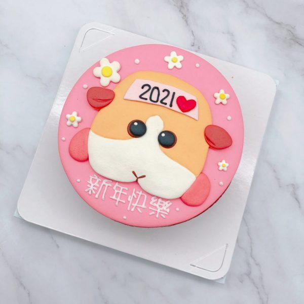 天竺鼠車車造型蛋糕推薦,老鼠生日蛋糕宅配分享