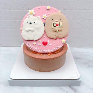 角落生物炸豬排生日蛋糕推薦,白熊造型蛋糕宅配