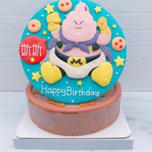 七龍珠生日蛋糕推薦,普烏造型蛋糕宅配