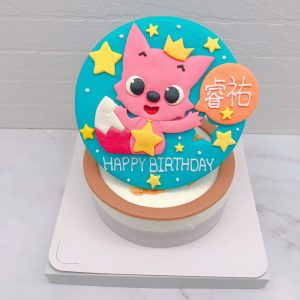 碰碰狐生日蛋糕宅配,客製化造型蛋糕推薦