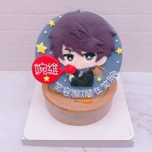 Q版李澤言生日蛋糕推薦,戀與製作人造型蛋糕分享