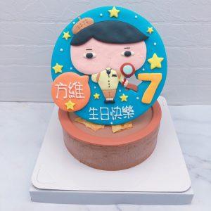 屁屁偵探造型蛋糕作品分享,客製化生日蛋糕宅配推薦