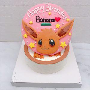 伊布造型蛋糕推薦,寶可夢客製化生日蛋糕宅配