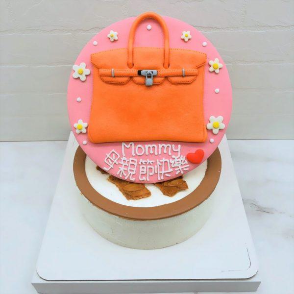 愛馬仕包包造型蛋糕推薦,Hermes母親節蛋糕宅配