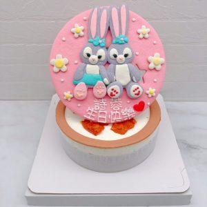 史黛拉兔生日蛋糕推薦,stellalou造型蛋糕宅配分享