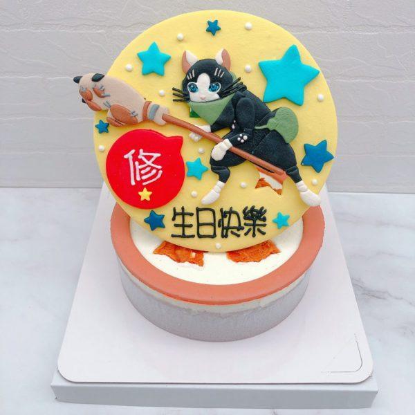 魔物獵人造型蛋糕推薦,艾露貓生日蛋糕宅配作品分享