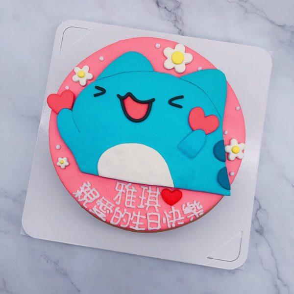 咖波手作造型蛋糕推薦,客製化生日蛋糕作品分享