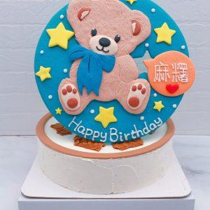 台北熊造型蛋糕推薦,客製化生日蛋糕宅配