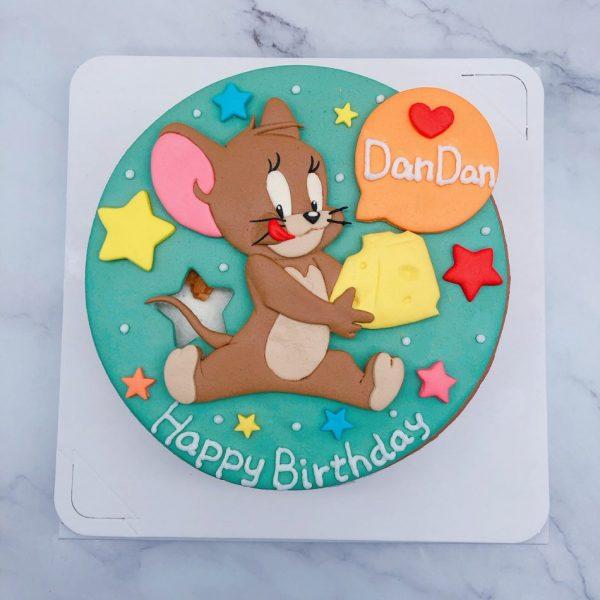 傑利鼠造型蛋糕推薦,湯姆貓與傑利鼠生日蛋糕宅配