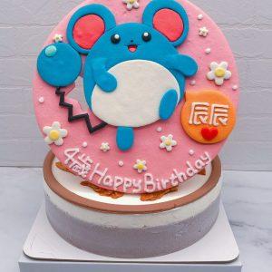 寶可夢造型蛋糕推薦,瑪力露生日蛋糕宅配分享
