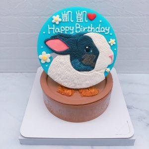 台北兔子生日蛋糕推薦,寵物造型蛋糕全台宅配