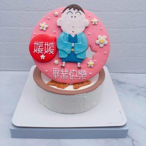 蠟筆小新生日蛋糕推薦,阿呆造型蛋糕宅配分享