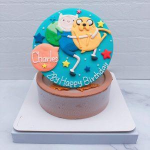 探險活寶老皮造型蛋糕推薦,阿寶生日蛋糕宅配分享