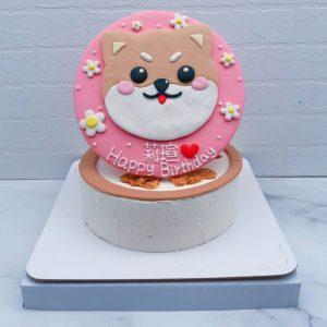 柴犬生日蛋糕推薦,寵物造型蛋糕宅配分享