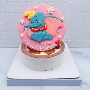 小飛象造型蛋糕推薦,Dumbo生日蛋糕宅配分享