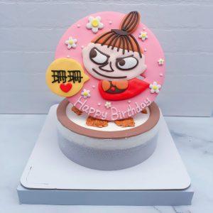 嚕嚕米生日蛋糕推薦,小不點造型蛋糕作品分享
