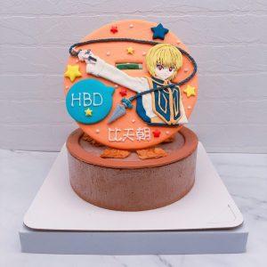 酷拉皮卡造型蛋糕推薦,HUNTER獵人生日蛋糕宅配