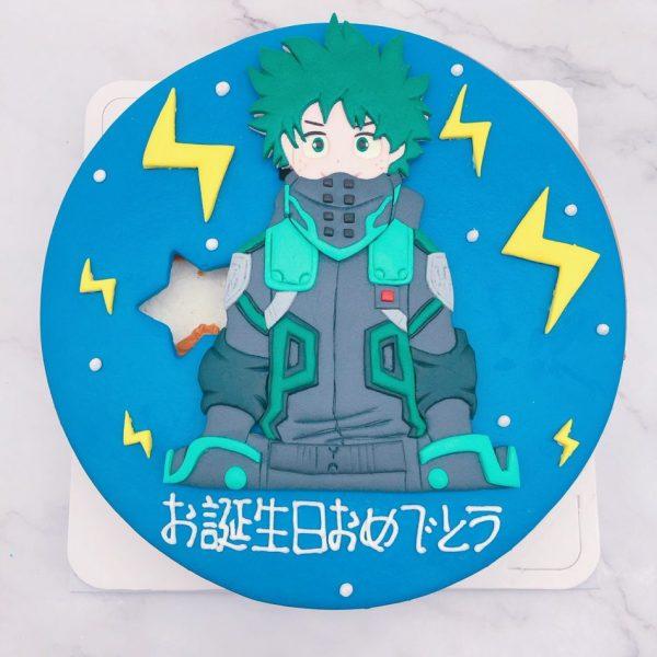 我的英雄學院生日蛋糕推薦,绿谷出久造型蛋糕宅配