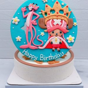 喬巴造型蛋糕推薦,頑皮豹生日蛋糕宅配分享