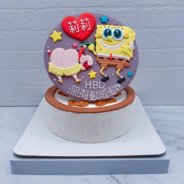 海綿寶寶生日蛋糕推薦,蠟筆小新造型蛋糕宅配訂購