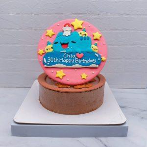 咖波手作造型蛋糕推薦,Capoo客製化生日蛋糕宅配