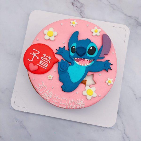史迪奇生日蛋糕推薦,客製化卡通造型蛋糕作品分享