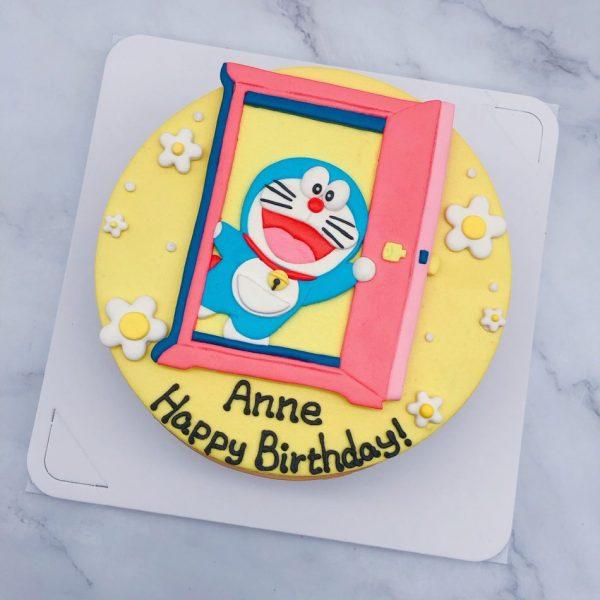 哆啦A夢客製化蛋糕,客製化卡通人物生日蛋糕宅配