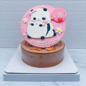 熊貓造型蛋糕推薦,貼圖生日蛋糕手作作品分享