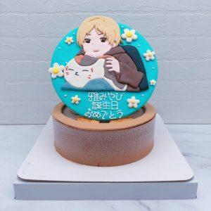 夏目友人帳造型蛋糕推薦,貓咪老師生日蛋糕宅配