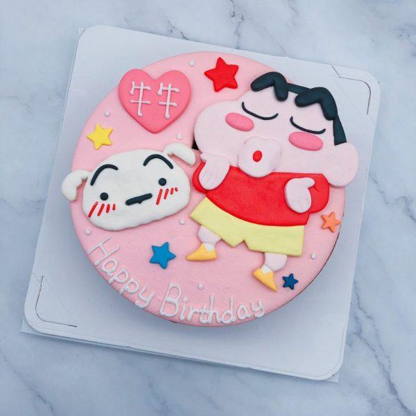 蠟筆小新生日蛋糕推薦,客製化小白造型蛋糕宅配分享