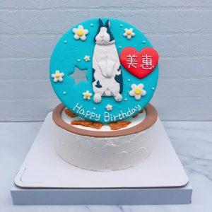 超可愛兔子生日蛋糕推薦,台北寵物造型蛋糕全台宅配