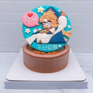 安奈特造型蛋糕推薦,傳說對決生日蛋糕宅配作品分享