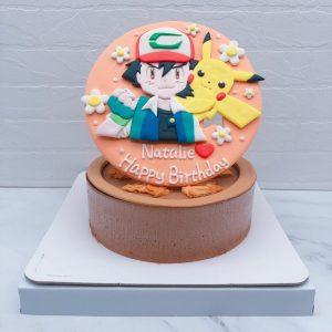 寶可夢皮卡丘造型蛋糕推薦,小智生日蛋糕作品分享