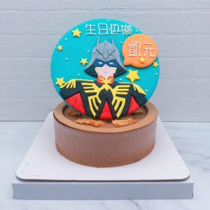 機動戰士鋼彈造型蛋糕推薦,夏亞・阿茲納布爾生日蛋糕作品分享