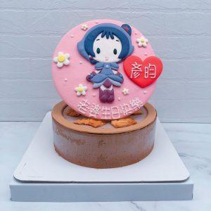 小魔女DoReMi造型蛋糕推薦,瀨川音符生日蛋糕宅配