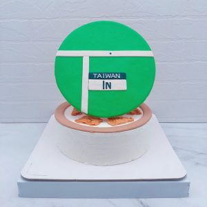 TAIWAN IN造型蛋糕推薦,羽球生日蛋糕宅配分享