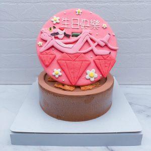 頑皮豹造型蛋糕推薦,卡通生日蛋糕宅配分享