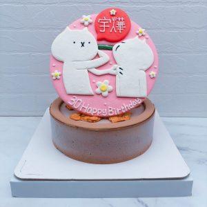 客製化生日蛋糕推薦 ,反應過激的貓手作造型蛋糕作品分享