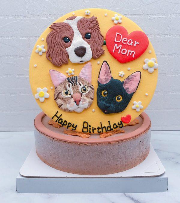 狗狗生日蛋糕推薦,寵物貓咪造型蛋糕宅配分享