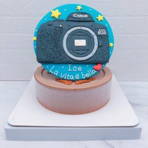 相機造型蛋糕推薦,Canon客製化生日蛋糕宅配