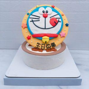 哆啦A夢造型蛋糕推薦,客製化卡通生日蛋糕宅配