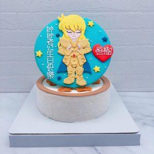 聖鬥士星使生日蛋糕推薦,處女座造型蛋糕宅配分享